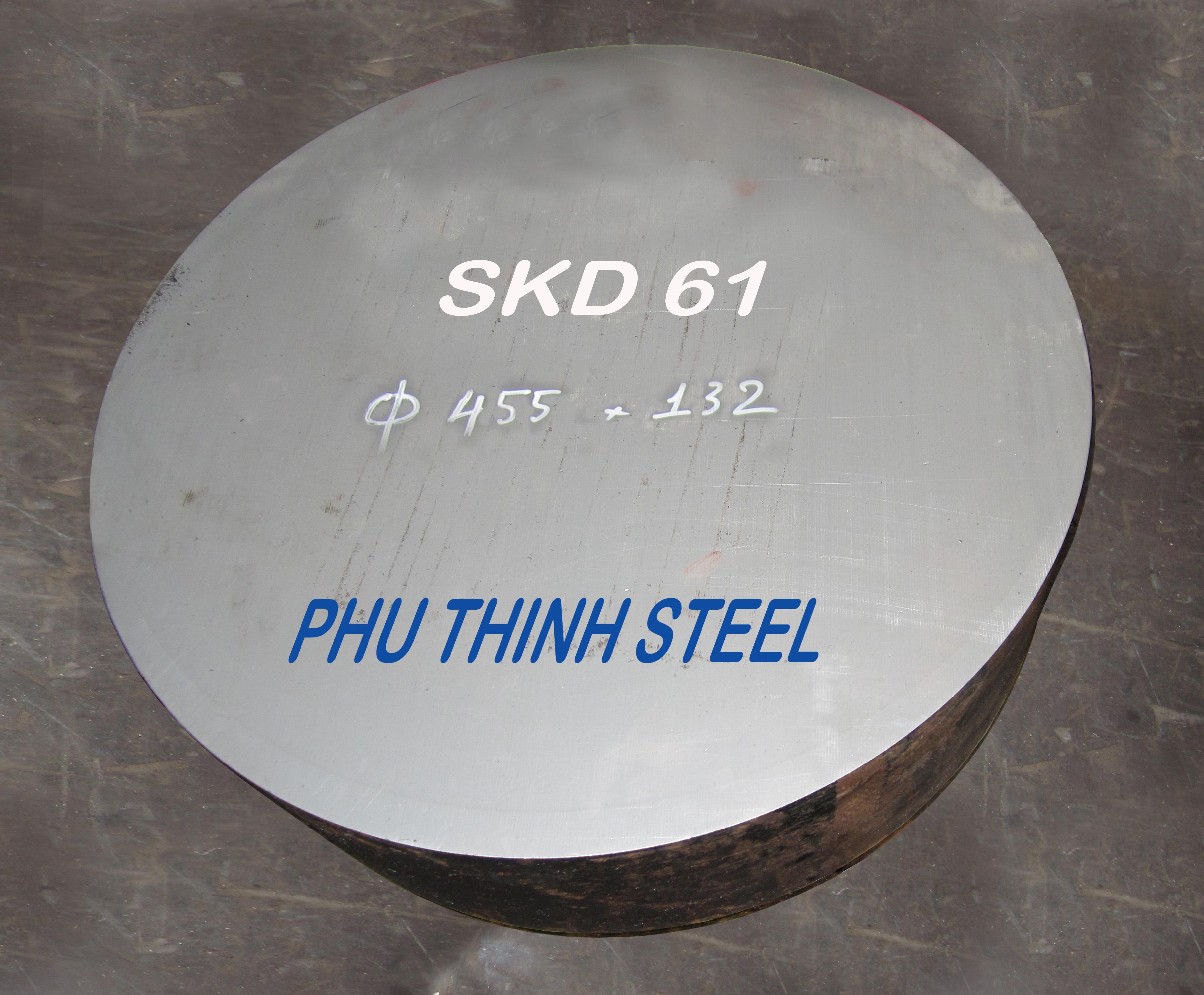 Dạng thép SKD61 tròn đặc