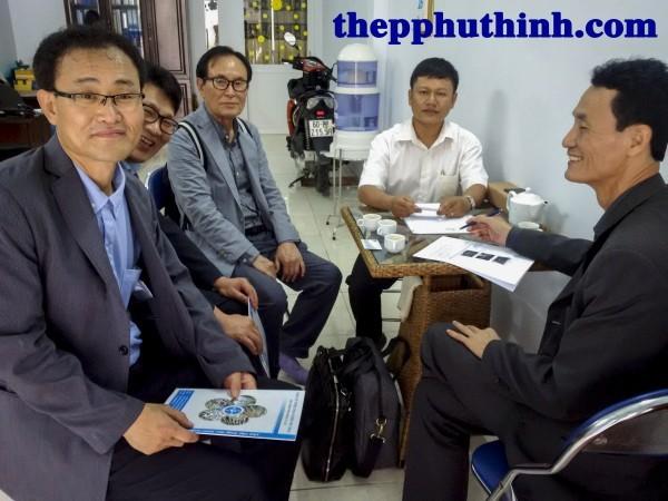 Gặp gỡ đối tác Hàn Quốc tại Công ty TNHH công nghiệp Phú Thịnh