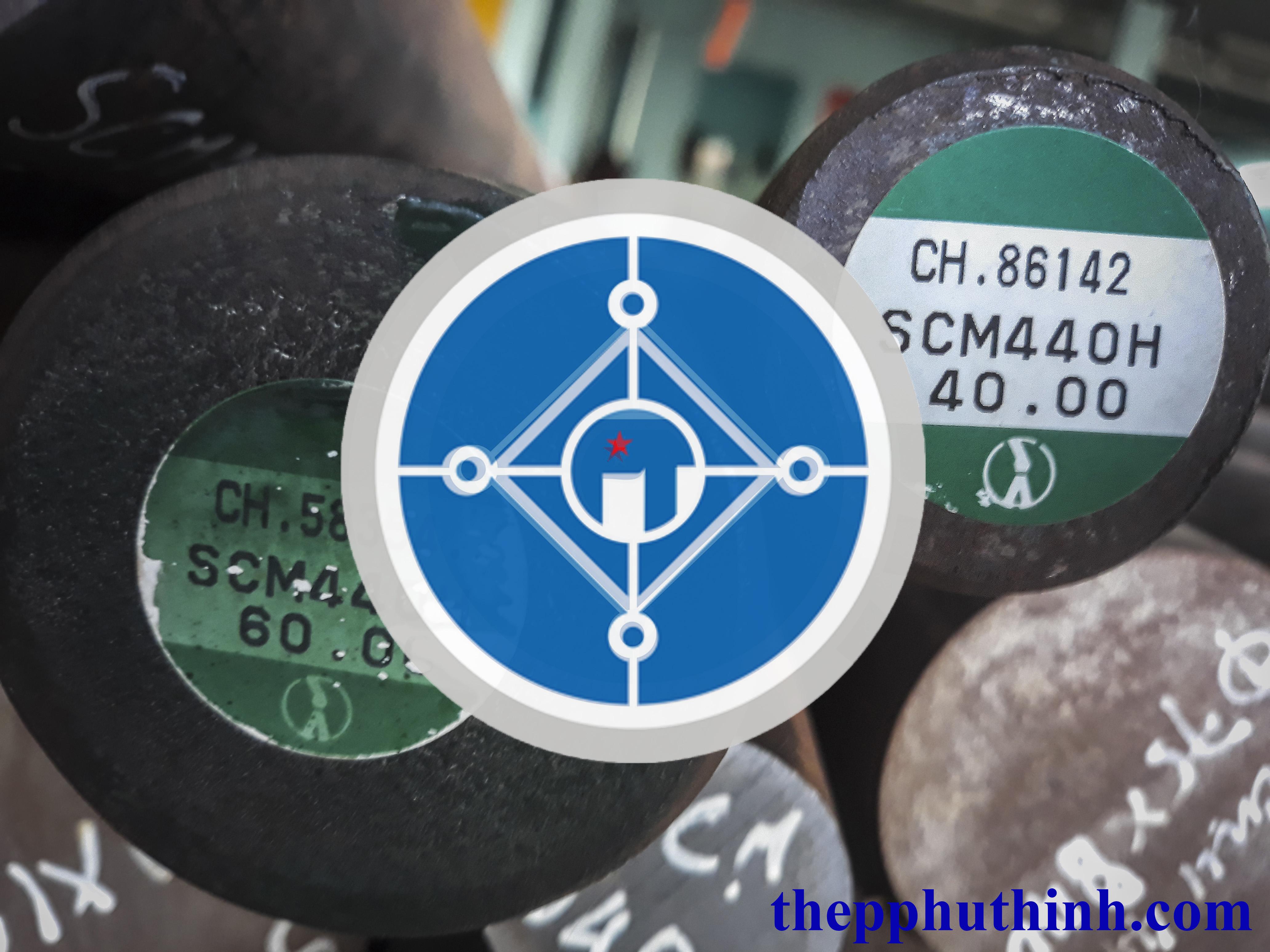 Thép tròn đặc SCM440