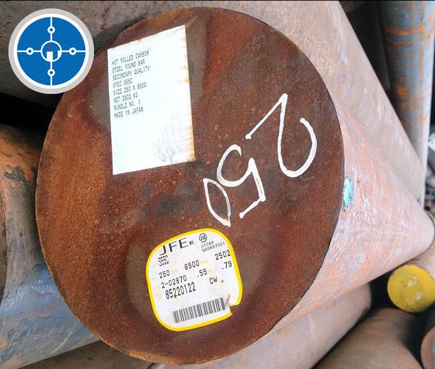 Thép tròn đặc S50C