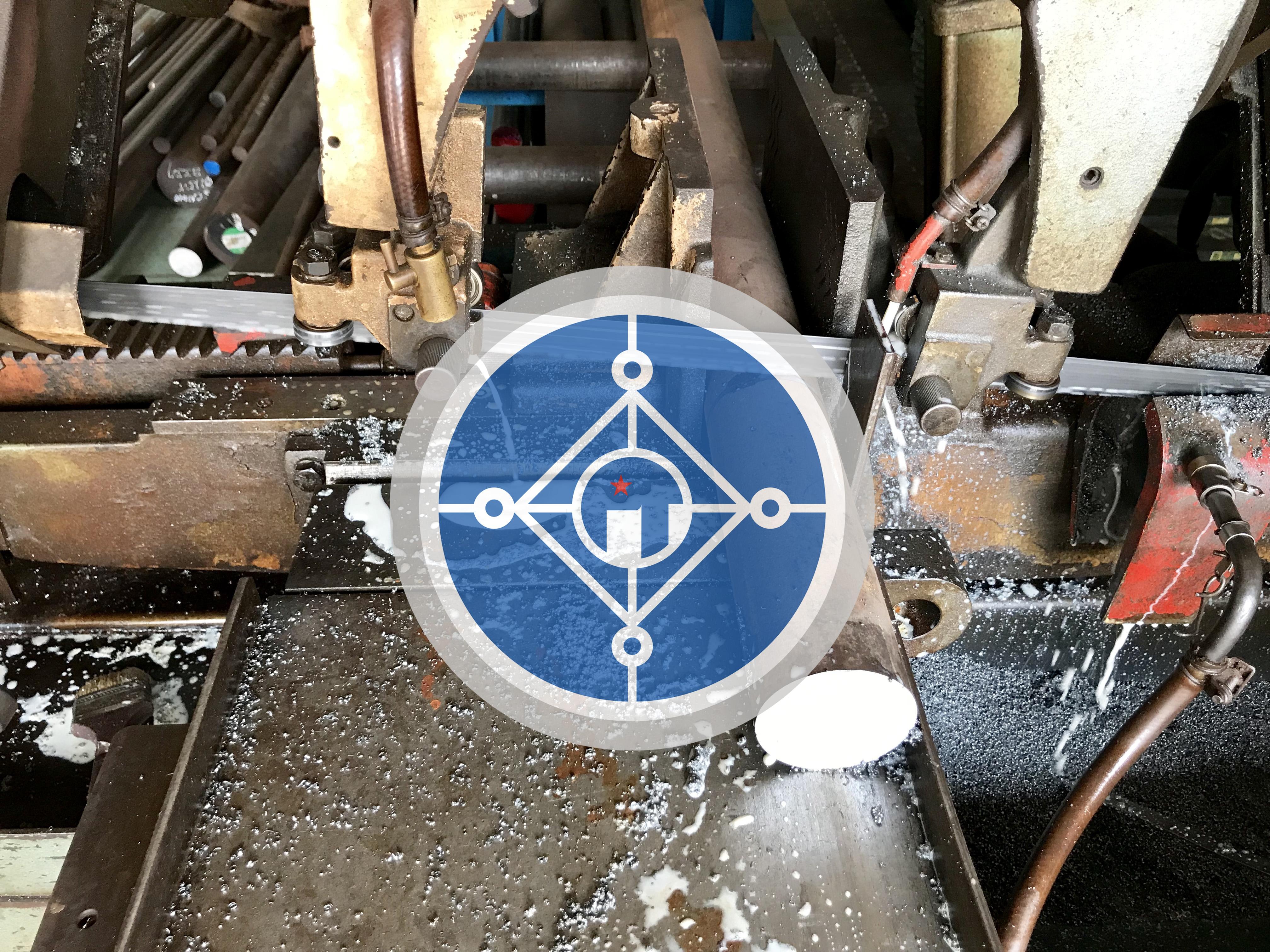 Thép tròn đặc SCM440 làm bộ duỗi thẳng trong máy bẻ đai