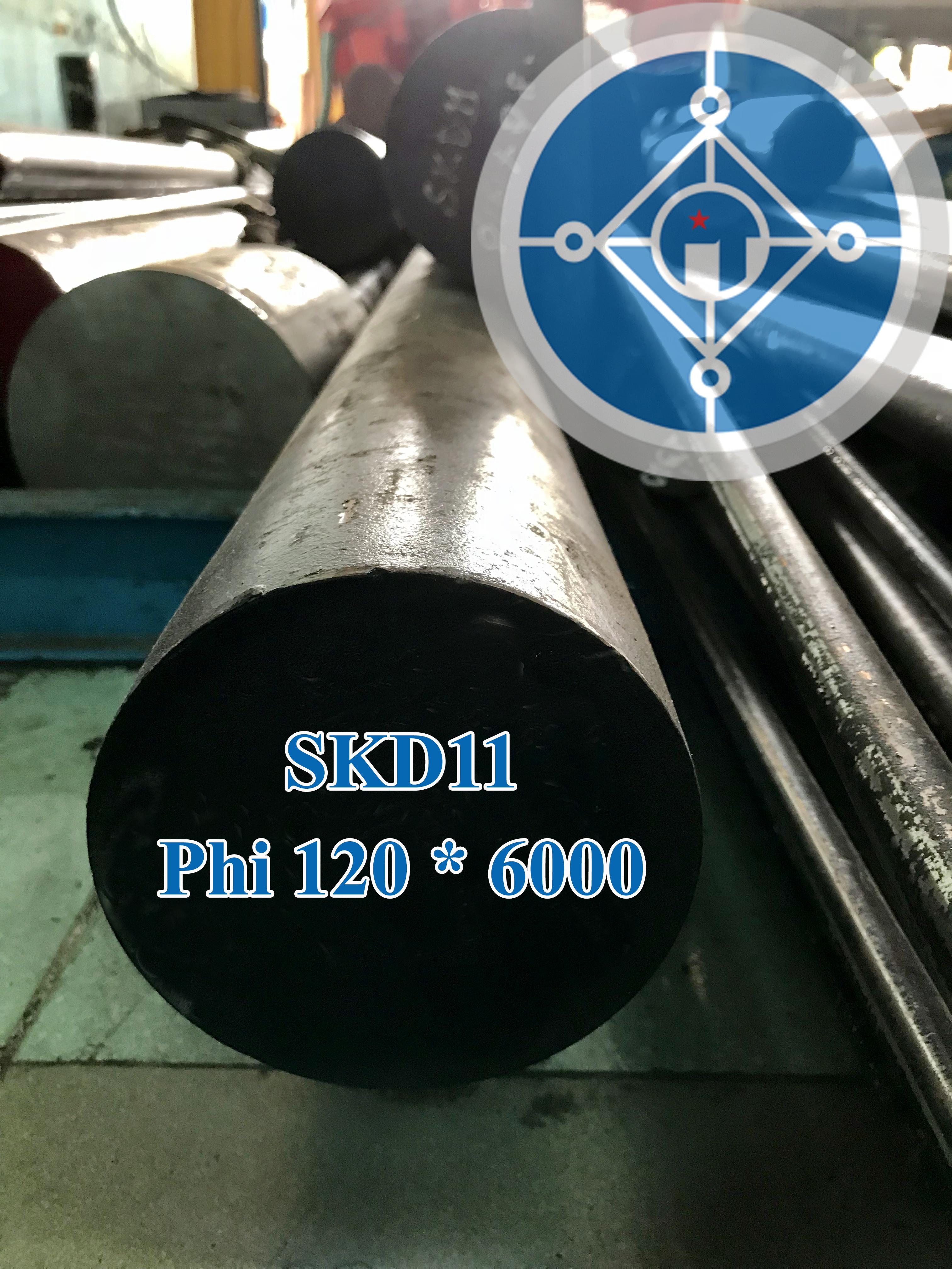Thép tròn đặc SKD11