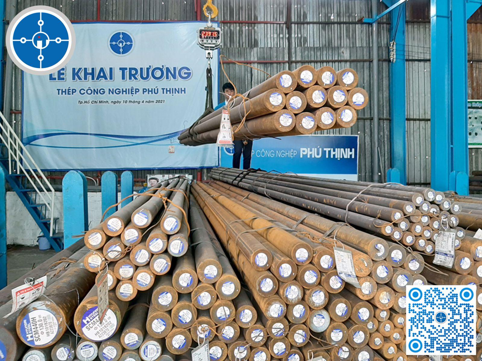 Giá thép SCM440 Thép công nghiệp Phú Thịnh nhập