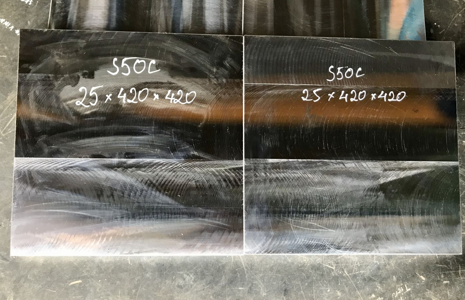 Gia công phay - Thép S50C