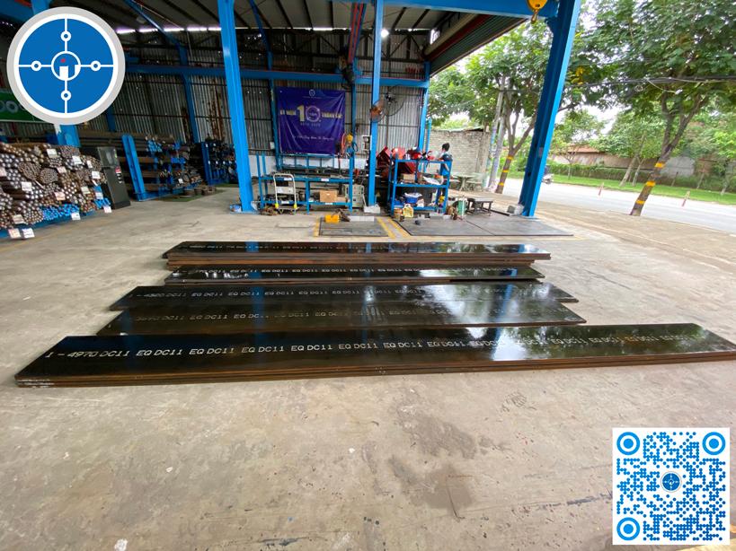 Thép tấm DC11 tại kho Thép công nghiệp Phú Thịnh