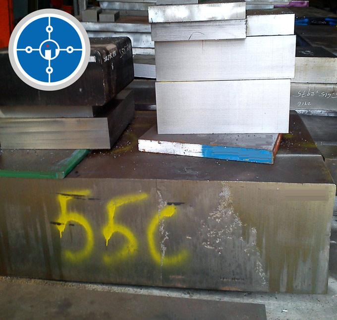 Thép S55C dạng tấm